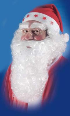 Barba e sopracciglia Babbo Natale
