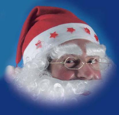 Cappuccio Babbo Natale luminoso
