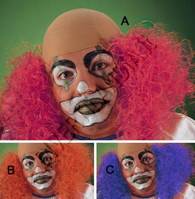 calotta da clown