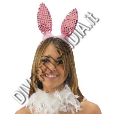Orecchie da coniglietta rosa