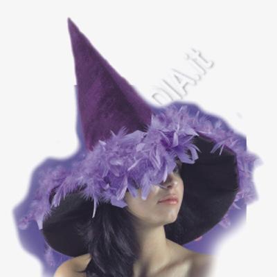 Cappello da strega viola