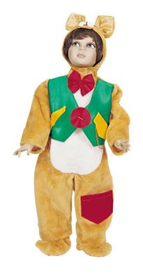 Costume orsetto