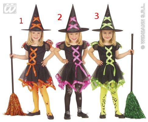 Costume da strega bambina
