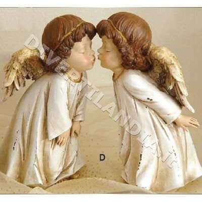 Statuetta angioletto natalizia
