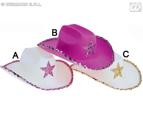 Cappello da Cowgirl rosa