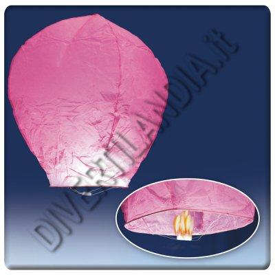 Lanterne volanti rosa