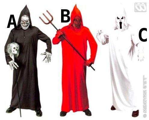 Costume da Morte, Diavolo e fantasma