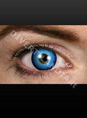 Lenti a contatto colorate azzurre