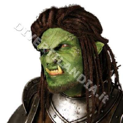 Maschera da Troll World of Warcraft