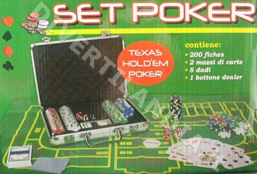 valigetta kit poker