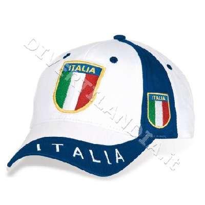 Cappellino dell'Italia bianco