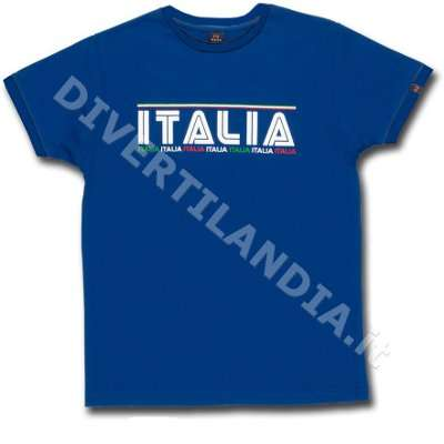 T-Shirt Italia Azzurra