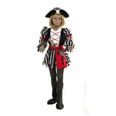 Costume da piratessa bambina