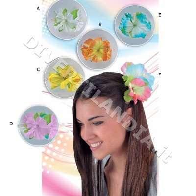 Molletta per capelli con fiore