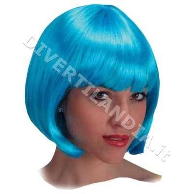 Parrucca azzurra