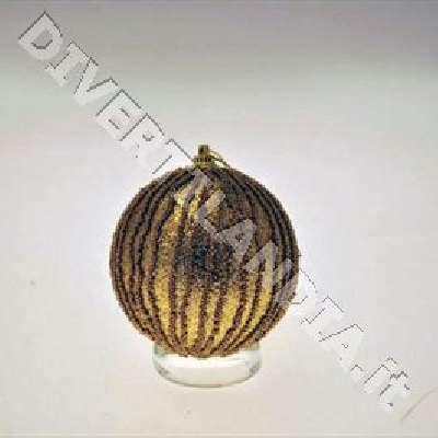 Palla dorata per albero di Natale