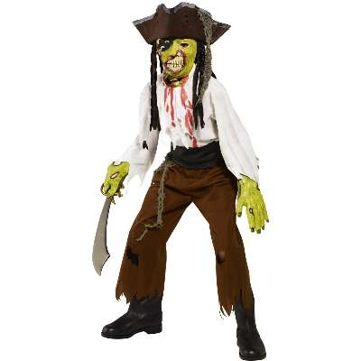 Costume Zombie pirata