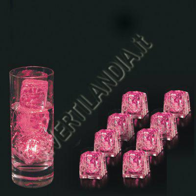 Ghiaccio rosa luminoso
