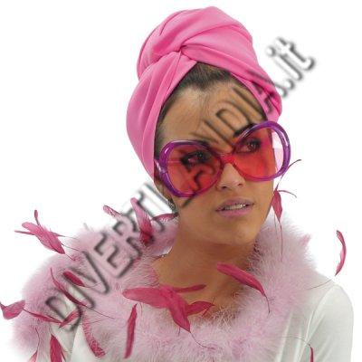 Occhiale anni 60 rosa